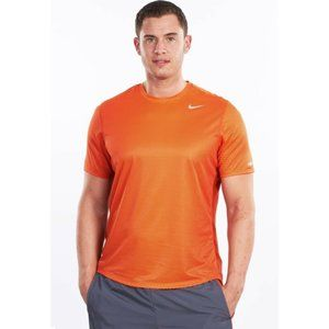 Nike Medium Orange Dri-Fit Sublimated Jersey Shirt
